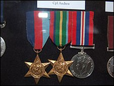 Medals from the Far East campaign