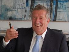 Wolfsburg City Mayor Rolf Schnellecke