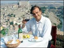 Keith Floyd in Toledo, Spain