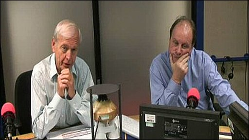 John Humphrys and James Naughtie