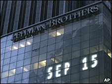 Lehman HQ in New York
