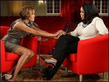 Whitney Houston on The Oprah Winfrey Show