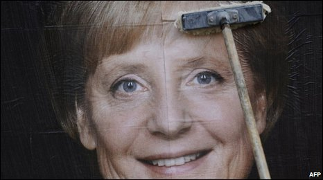 Poster of Angela Merkel