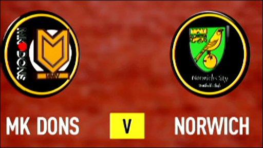 MK Dons v Norwich