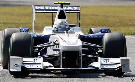 BMW Sauber driver Nick Heidfeld