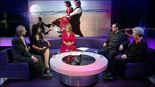 Newsnight Review panel discuss Darwin on stage and screen