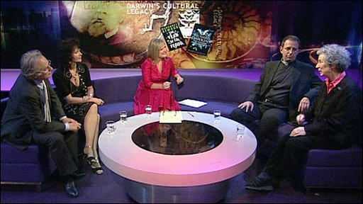 The Newsnight Review panel discuss Darwin's influence on literature