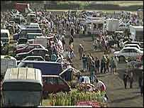 A car boot sale