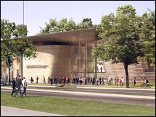 Artists impression Royal Welsh College of Music and Drama