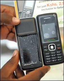 M-Pesa service, Safari.com phone