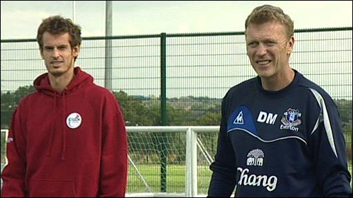 Andy Murray & David Moyes