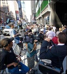 Lehman Brothers New York office, 15 September 2008, pic courtesy of www.jasonsmith.com