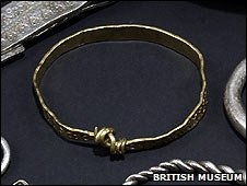 Gold arm ring from the Vale of York Hoard