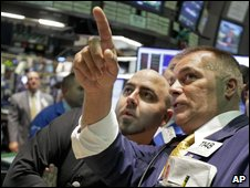 Traders on the New York Stock Exchange earlier this week