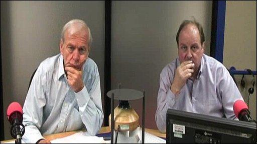 James Naughtie and John Humphrys