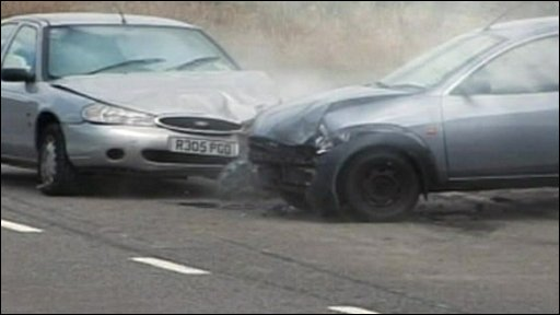 Still from car awareness video
