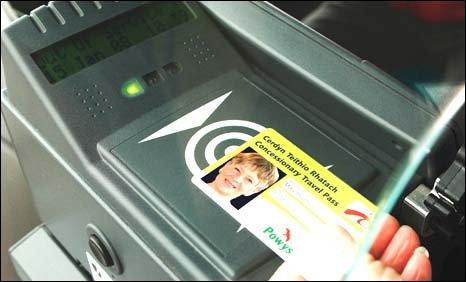 Bus smartcard