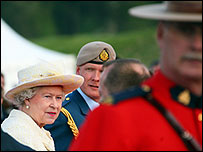 The Queen at Arras