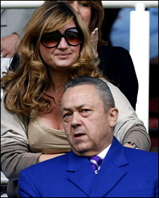 Karren Brady and David Sullivan