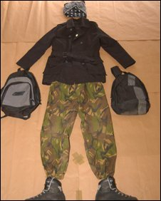 Clothing found in Matthew Swift's house