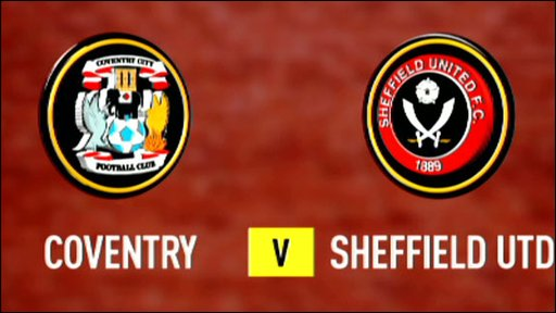 Coventry v Sheffied United