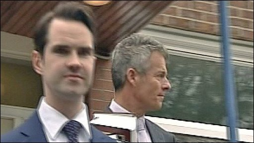Jimmy Carr at earlier hearing