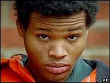 Lee Boyd Malvo, one of the convicted snipers. File photo