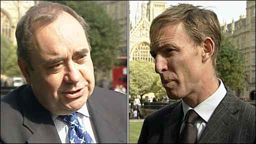 Alex Salmond and Jim Murphy