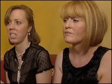 Collete McCormack and Christine Walker