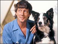 John Noakes with Shep