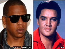 Jay-Z and Elvis Presley