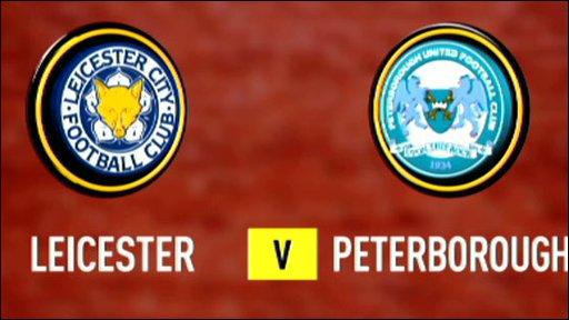 Leicester v Peterborough