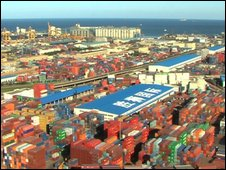 Dalian Port's operations are expanding quickly