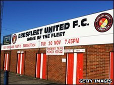 Ebbsfleet United's ground