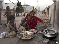 Slum in Pakistan