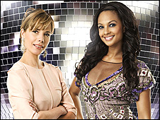 Darcey Bussell and Alesha Dixon