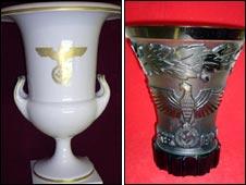 Vases (picture courtesy of Regimentals)