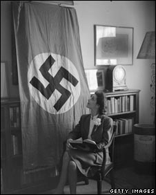 Nazi flag sent back to the UK during World War II