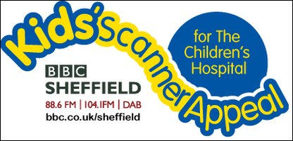 BBC Sheffield Kids' Scanner Appeal logo