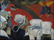 Vision of the Sermon, Paul Gauguin (National Gallery of Scotland)