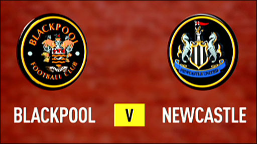 Blackpool 2-1 Newcastle