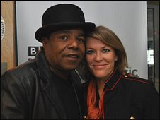 Tito Jackson and 6 Music presenter Cerys Matthews