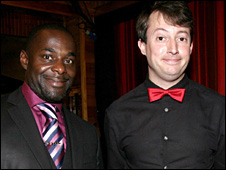 Paterson Joseph and David Mitchell