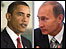 Barack Obama and Vladimir Putin