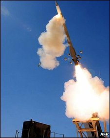Patriot missile (file image)