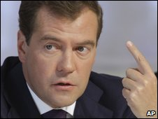 Dimtry Medvedev