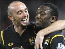 Stephen Ireland (left) and Wright-Phillips (right)