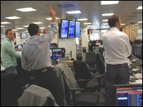 Traders at money broker ICA