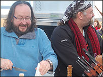 The Hairy Bikers at Snape Maltings
