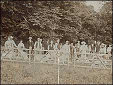 Widecombe Fair in 1901